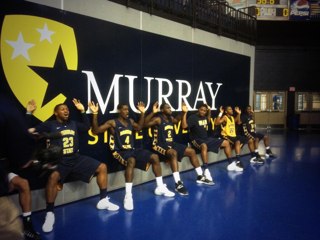 Sitting in on the Murray State Men's Basketball Practice