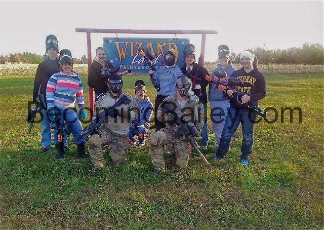 A Day Playing Paintball