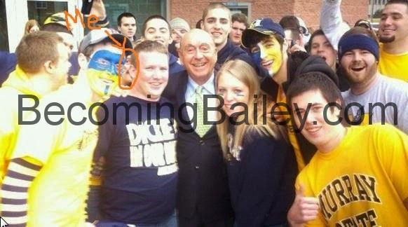 Meeting Dick Vitale