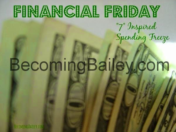 Financial Friday: 7 Inspired Spending Freeze