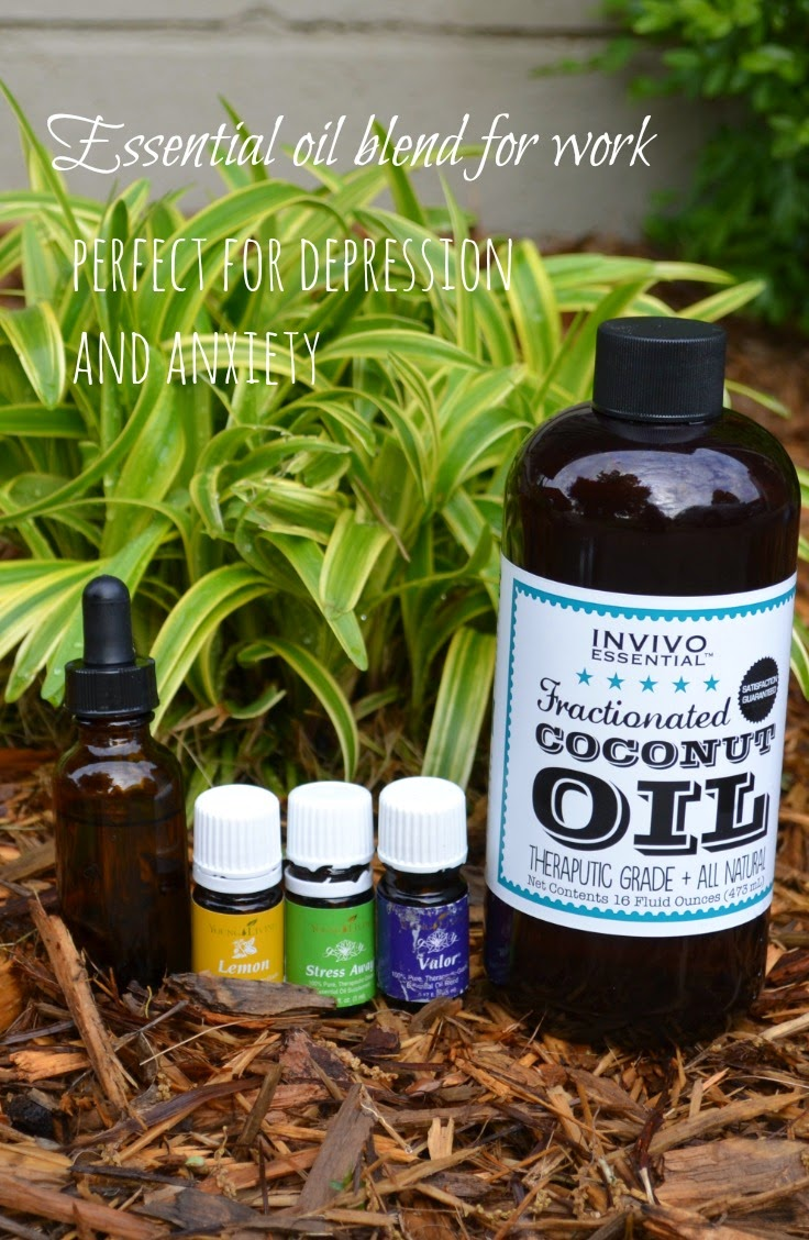 Essential Oil Blend for Depression and Anxiety