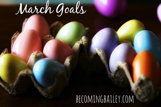 Goals {March 2016}
