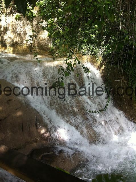 {Honeymoon in Jamaica} Dunn's River Falls
