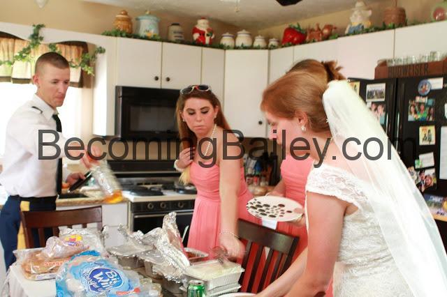 Andrew + Bailey: The Spontaneous Wedding Luncheon