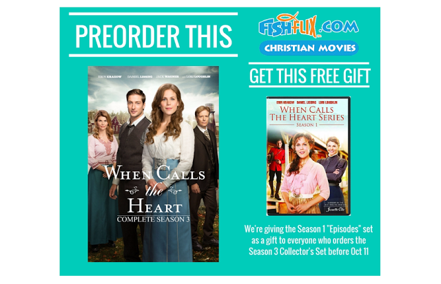 When Calls the Heart: Season 1 free when you pre-order Season 3