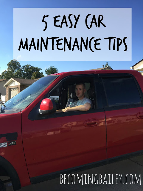5 Easy Car Maintenance Tips