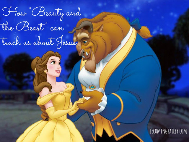 "How ""Beauty and the Beast"" can teach us about Jesus"