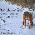 Our Debt Snowball Plan: A Second Take at Paying Off Debt