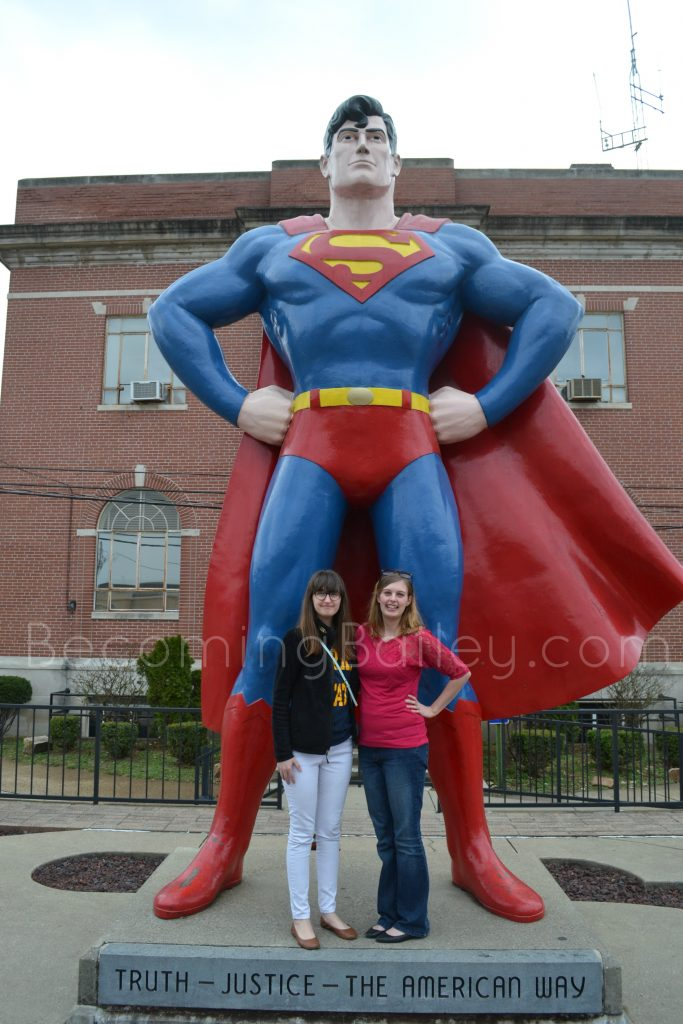 Superman Statue Metropolis, IL