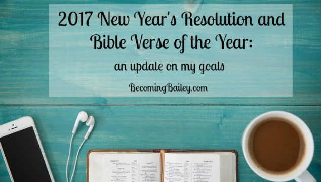 2017 Resolutions Update