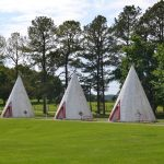 Sleeping in a Teepee at Wigwam Village