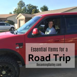 Essential Items for a Road Trip