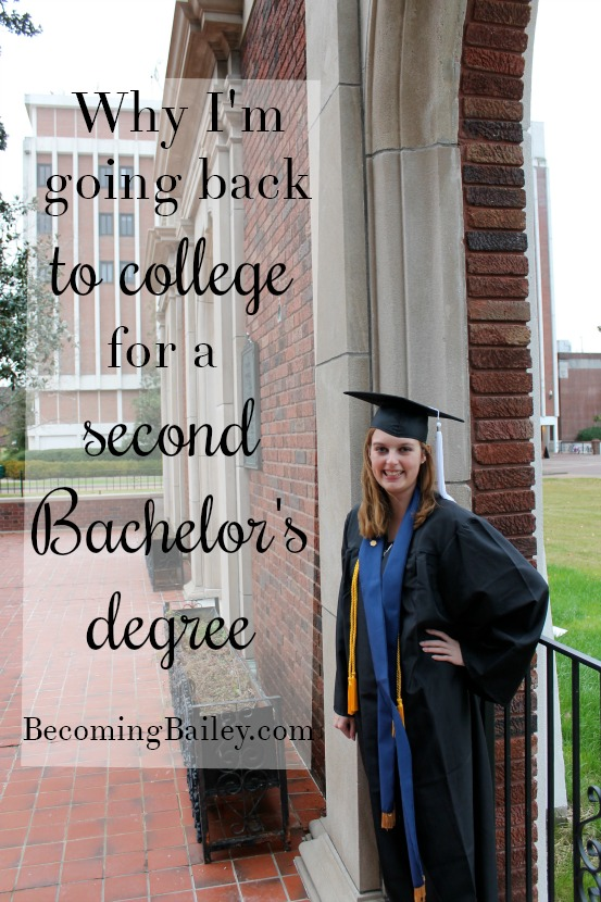Why I'm Going Back for a Bachelor's Degree (Even Though I Already Have One)