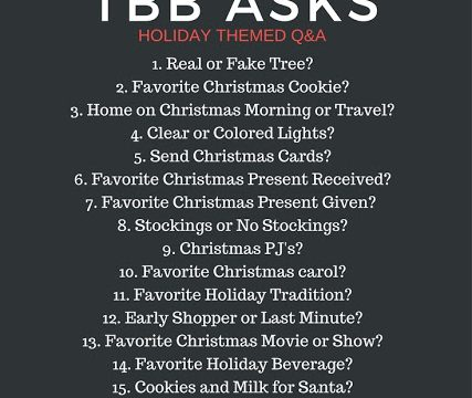 A Holiday Questionnaire