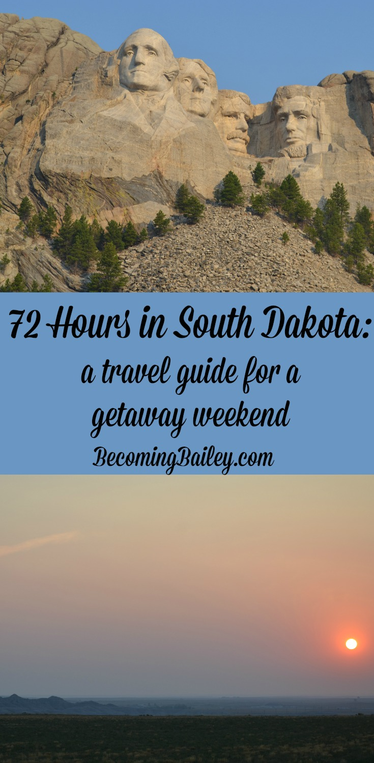 72 Hours in South Dakota