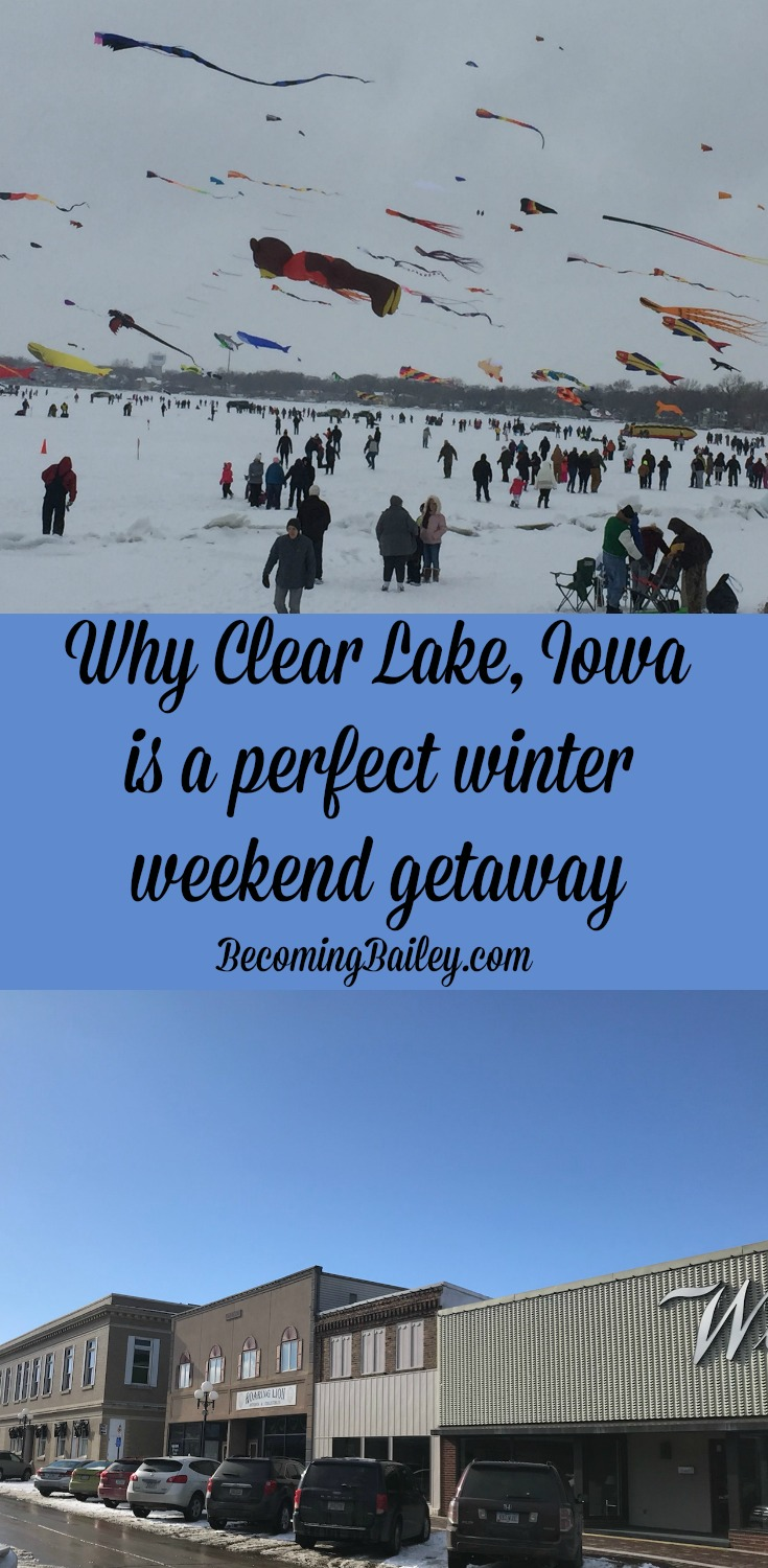 A Perfect Winter Weekend Getaway in Clear Lake, Iowa