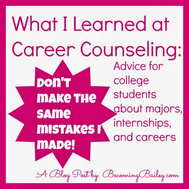What I Learned at Career Counseling