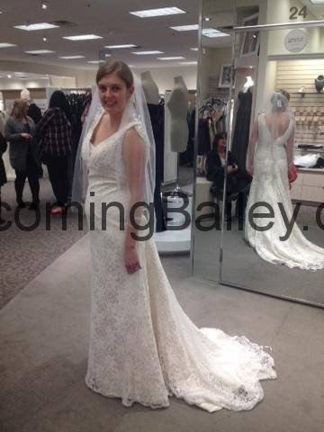 "Saying ""Yes"" to the Dress + Other Wedding Shopping"