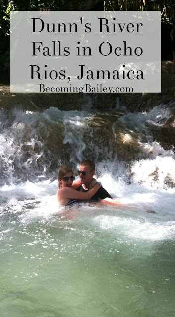 Dunn's River Falls, Ocho Rios, Jamaica | If you're planning to visit Jamaica, you NEED to put this waterfall on your list! Click to read why it's the #1 excursion in Jamaica