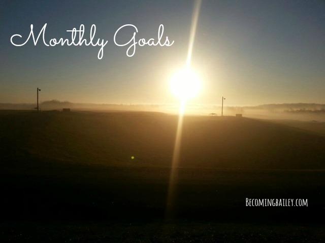 Goals {August 2016}