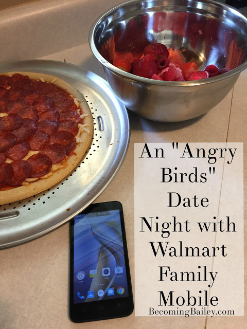 """An """"Angry Birds"""" Date Night, thanks to Walmart Family Mobile"""