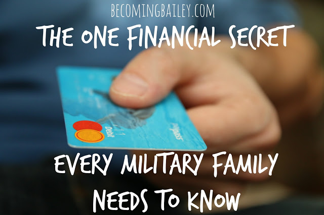 The One Financial Secret Every Military Family Needs to Know