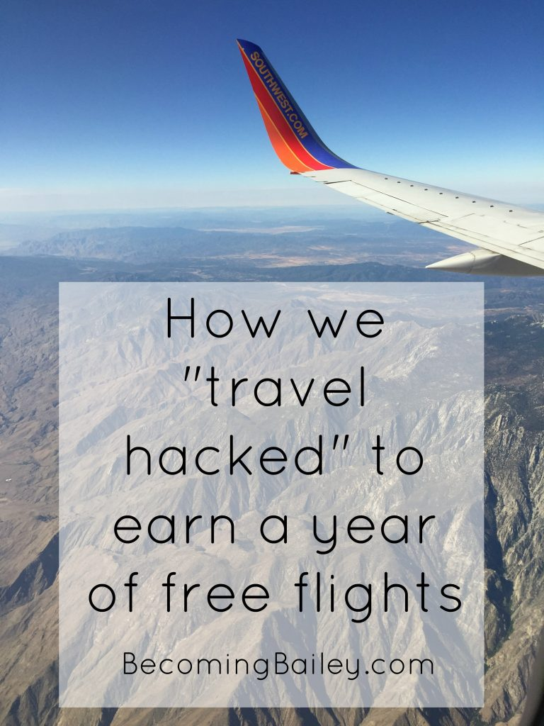 Travel hacking Southwest Airlines