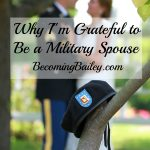 Why I'm Grateful to Be a Military Spouse
