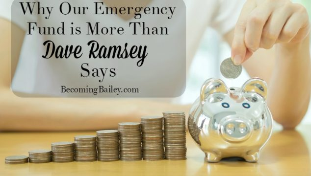 """Why Our """"Emergency Fund"""" is More than $1,000"""