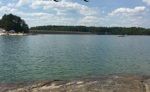Kentucky's Best Kept Secret Swimming Area: Laurel Lake