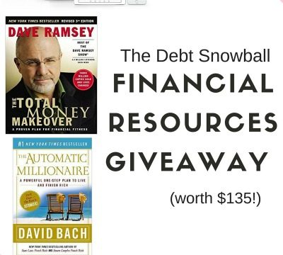 The Debt Snowball Financial Resources Giveaway ($135 value!)