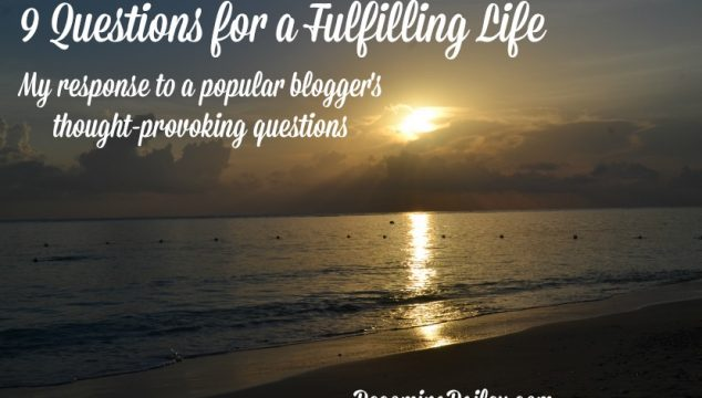 9 Questions for a Fulfilling Life