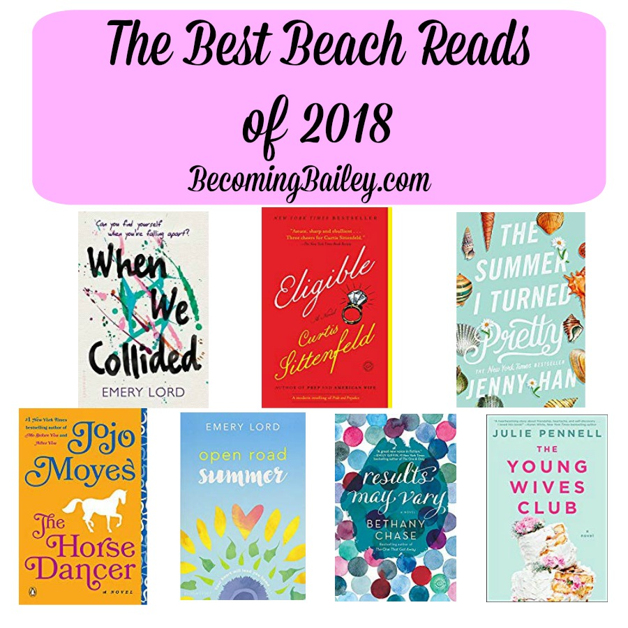 Best Beach Reads of 2018