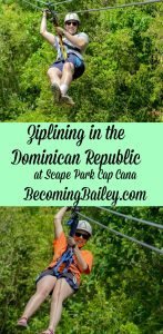 Ziplining in the Dominican Republic