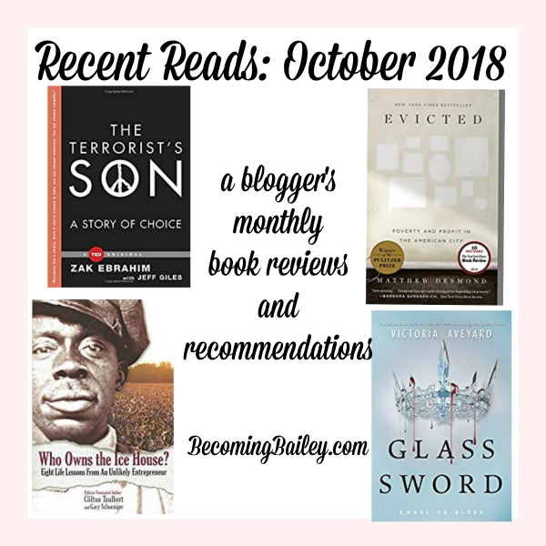 Recent Reads {October 2018}