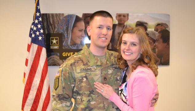 Andrew's Promotion to Staff Sergeant