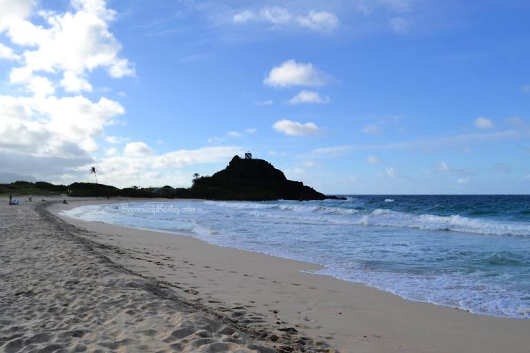 Our Hawaiian Babymoon: Visiting Pyramid Rock Beach at Marine Corps Base Hawaii