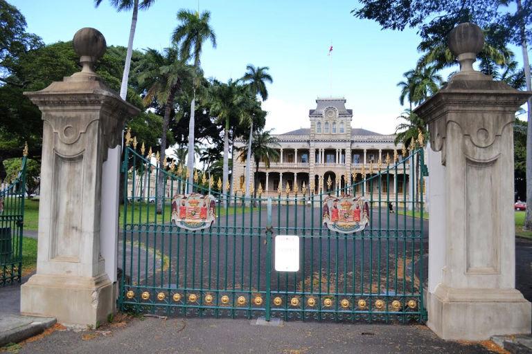 Our Hawaiian Babymoon: Visiting Iolani Palace